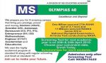 MS Olympias 40 Admission Notification