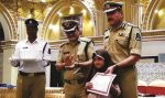 MSian win 1st prize in City Police Elocution contest