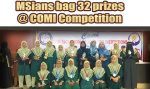 MSians Bag 32 Prizes @ COMI Competition