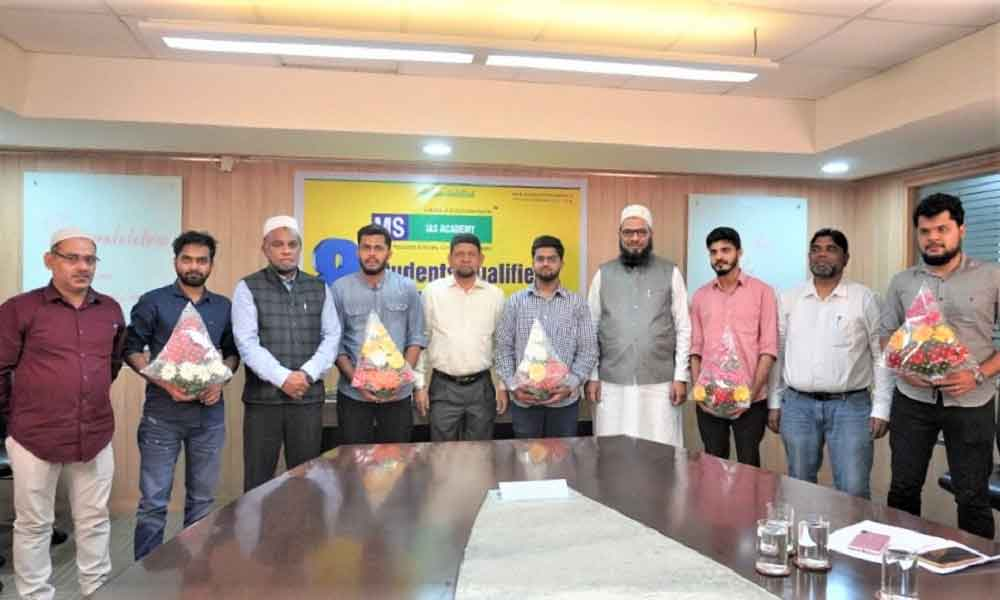 Felicitation of Prelims Qualified Students
